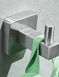 cheap -Bathroom hooks Hook Living Room Storage Coat Hook Bathroom Stainless Steel Clothes Hook