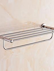 Недорогие -Полка для ванной Креатив / Многофункциональный Modern Нержавеющая сталь 1шт На стену