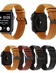 cheap -Watch Band for Apple Watch Series 5/4/3/2/1 Apple Business Band Genuine Leather Wrist Strap