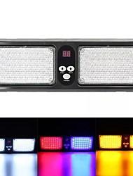 cheap -1pcs 12V Car Sun Visor Strobe Light LED Flashing Warning Emergency Light - Red Blue