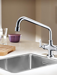 cheap -Kitchen faucet - Two Handles One Hole Multi-Ply Standard Spout Other Contemporary Kitchen Taps