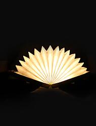 Недорогие -1шт Прямоугольный / Книга Декоративное освещение / Внутренний ночной свет Триколор USB Меняет цвета / Креатив / С портом USB 5 V Рождество