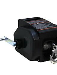 Недорогие -2000lb 12v электрическая лодка автомобильная яхта лебедка портативная рука тянет машины подъемный строп