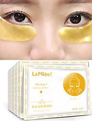 abordables -20pairs lamilee gold aquagel collagène sommeil masque pour les yeux masque sans âge pansements pour les yeux cercles noirs face aux soins de la peau blanchissant