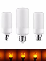 Недорогие -1 шт. 3 режима пламени фары e27 e26 e14 e12 b22 светодиодная лампа с эффектом пламени 5w рождественская эмуляция мерцающий хэллоуин Хэллоуин украшения лампа светодиодный горящий свет мерцающее пламя