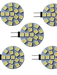cheap -5pcs 3 W LED Bi-pin Lights 300 lm G4 G5 15 LED Beads SMD 5050 9-30 V