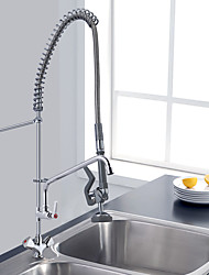 cheap -Commercial sink mixer taps deck mount tall pre rinse unit with faucet