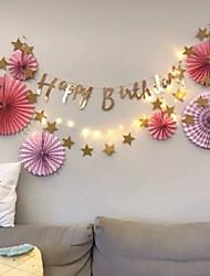 abordables -Décorations de vacances Nouvel An Objets décoratifs Nouveautés Rose 1pc