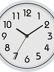 cheap -Wall Clock,Modern Contemporary Wall Hanging Plastic & Metal Acrylic Round Indoor