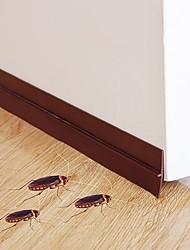 cheap -Self Adhesive Bottom Door Window Tape 2m Rubber Sealing Strip Weather striping Sound Insulation Sliding Door Seal Strip