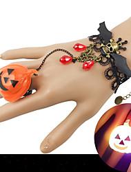 cheap -Women's Red Vintage Bracelet Ring Bracelet / Slave bracelet Earrings / Bracelet Retro Skull Bat Statement Punk Trendy Gothic Fashion Alloy Bracelet Jewelry Black For Halloween Club / Pendant Bracelet