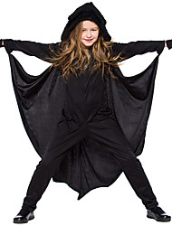 cheap -Bat Halloween Props Kid's Boys' Halloween Halloween Festival / Holiday Knitting Black Carnival Costumes / Gloves / Catsuit