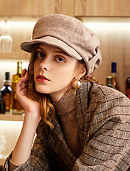 cheap -Wool / Polyester Headwear with Ruche 1pc Casual / Daily Wear Headpiece