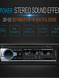 cheap -SWM Jsd-520 1 DIN 12V Car Stereo Radio In-DashBluetooth V2.0 Radio FM  Receiver  FM Aux Input SD USB MP3 Radio Player Lcd Digital Screen diaplay time Black