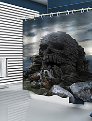 cheap -Shower Curtains & Hooks Modern Polyester New Design