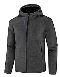 cheap -Wolfcavalry® Men's Hoodie Jacket Hiking Jacket Winter Outdoor Waterproof Windproof Breathable Warm Jacket Top Hunting Fishing Camping / Hiking / Caving Black / Grey / Dark Blue