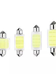 cheap -1pcs 31/36/39/41mm C5W C10W COB LED Bulb Car Festoon Dome Lights Interior Map Reading Lamp DC12V White