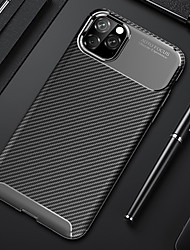 cheap -Phone Case For iphone 11 Pro Max Soft Silicon Back Cover Carbon Fiber TPU Shockproof Case For iphone XS Max XR X 8 Plus 8 7 Plus 7 6 Plus 6