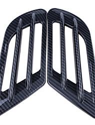 abordables -autocollant de décoration de conduit de conduit d'air de grille de passage d'air de couverture de trou d'air de voiture