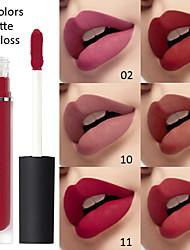 abordables -cmaadu sexy 15 couleurs liquide rouge à lèvres mat velours brillant à lèvres glaçure pour les lèvres imperméable durable maquillage pour les lèvres cosmétiques