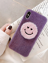 cheap -Case For Apple iPhone 11 / iPhone 11 Pro / iPhone 11 Pro Max Ultra-thin / Pattern Back Cover Cartoon / Plush TPU / Cotton Fabric