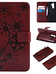 cheap -Case For Nokia Nokia 9 / Nokia 8 / Nokia 7 Wallet / Card Holder / Flip Full Body Cases Scenery PU Leather / TPU