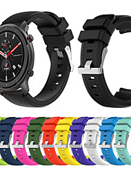 cheap -Sport Silicone Watch Band Wrist Strap for Xiaomi Huami Amazfit GTR 47mm Bracelet Wristband Replaceable Accessories