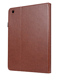 cheap -Case For Apple iPad 4/3/2 Magnetic / Auto Sleep / Wake Up Full Body Cases Solid Colored PU Leather / TPU