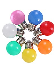 cheap -Coloured E27 2W Energy Saving 6 LED Light Bulbs Globe Lamp DIY 6 color Bright