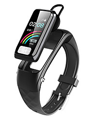 cheap -DTB02 Smart Wristband Bluetooth Fitness Tracker & Wireless Headphone Support Notify/ Heart Rate Monitor Compatible Samsung/ Iphone/ Android Phones
