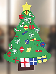 cheap -Christmas Ornaments Christmas Tree Non-woven Christmas tree Novelty Christmas Decoration