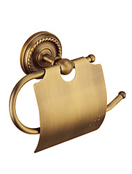 cheap -Toilet Paper Holder Creative Antique / Traditional Brass Bathroom Wall Mounted