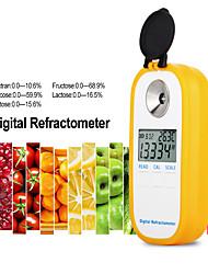 cheap -DR103  Digital Refractometer LCD Display Brxi Fruit Juice Sugar Meter Refractometer For Dextran Fructose Glucose Lactose Maltose