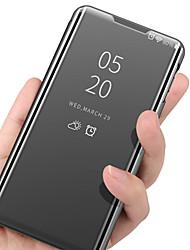 Недорогие -роскошный умный ясный вид зеркало зеркальный стенд подставка для телефона чехол для iphone 11 11 про 11 про макс хс макс хр хз х 8 8 плюс 7 7 плюс