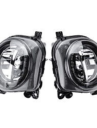 cheap -2pcs Car Front LED Fog Lights Pair for BMW 5 Series F07 F10 GT F11 F18 LCI 2013-2016 63177311294 63177311293