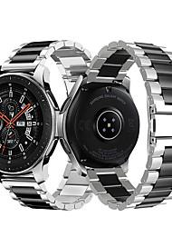 Недорогие -металлический браслет из нержавеющей стали ремешок для часов для samsung galaxy watch 46mm / gear s3 classic / frontier браслет сменный браслет
