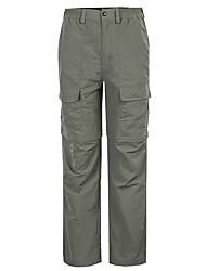 cheap -Men's Hiking Pants Convertible Pants / Zip Off Pants Summer Outdoor Windproof Breathable Quick Dry Wearproof Pants / Trousers Bottoms Fishing Hiking Climbing Hunter Green Grey Khaki S M L XL XXL