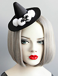 cheap -Women's Dainty Statement Vintage Fabric Alloy Hat Hair Clip Halloween Theme Party