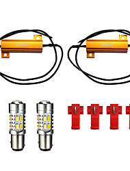cheap -5730 1157 LED Turn Signal Light Bulb Dual Color 20-SMD Switchback Resistor