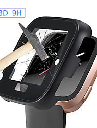 cheap -Protection Cover For Fitbit Versa Band Case Metal3D Tempered Glass Fit Bit Versa Watch Accessories Screen Protective Case Shell