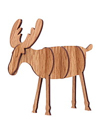 cheap -Holiday Decorations Holiday Wooden Mini Wooden Christmas Decoration