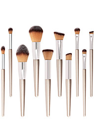 cheap -Professional Makeup Brushes 10pcs Soft New Design Comfy Wooden / Bamboo for Makeup Brush
