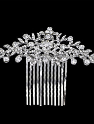 cheap -Alloy Hair Accessory with Crystal / Rhinestone / Flower 1 Piece Wedding Headpiece