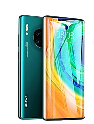 cheap -9D Tempered Glass For Huawei Mate 30 Pro Full Cover Curved Screen Protector Film on the for Huawei Mate 30 Pro Protective Glass black