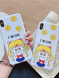 cheap -Case For Apple iPhone 11 / iPhone XS / iPhone XR Pattern Back Cover Cartoon TPU