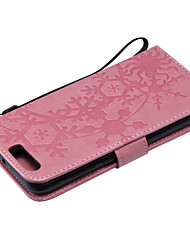 cheap -Case For Huawei Huawei P20 / Huawei P20 lite / P10 Lite Card Holder Full Body Cases Geometric Pattern PU Leather / PC