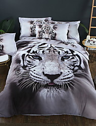cheap -Duvet Cover Sets 3D Polyester / Polyamide Printed 3 PieceBedding Sets
