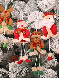 cheap -Christmas Decoration Pendant Christmas Cute Christmas Tree Creative 4Pcs