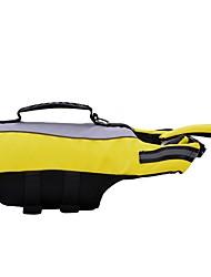 cheap -Dogs Life Vest Dog Clothes Yellow Costume Dalmatian Corgi Shiba Inu Polyester Color Block Waterproof S M L