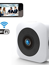 cheap -Wifi&Wireless HD 1080P 2MP Mini Camera Mobile Phone Remote Viewing Motion Detection Alarm Night Vision 140° Super Wide Angle For Office Classroom Drive Home Support TF Card